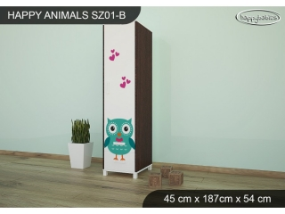 Skříň Animals SZ01 - AM02