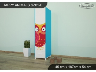 Skříň Animals SZ01 - AM03
