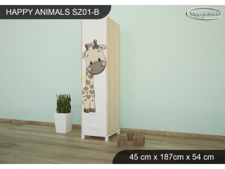 Skříň Animals SZ01 - AM07