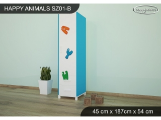 Skříň Animals SZ01 - AM11