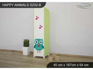 Skříň Animals SZ02 - AM02