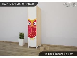 Skříň Animals SZ02 - AM03