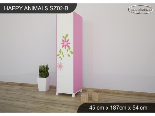 Skříň Animals SZ02 - AM04