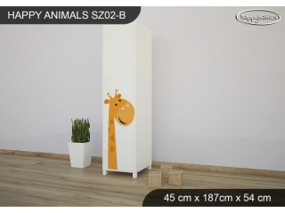 Skříň Animals SZ02 - AM06