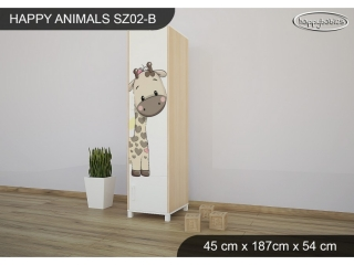 Skříň Animals SZ02 - AM07