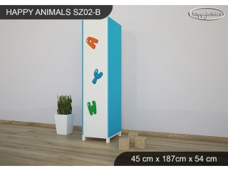 Skříň Animals SZ02 - AM11