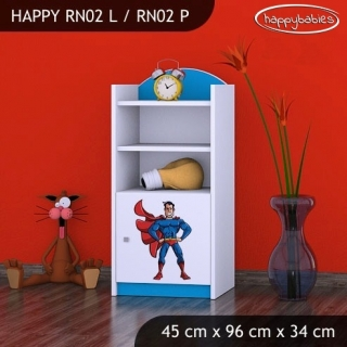 Regál Happy RN02 - super man