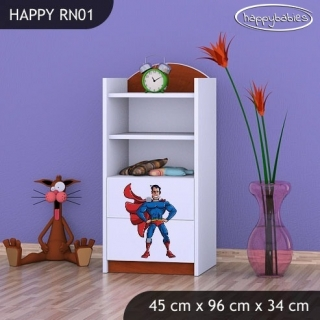 Regál Happy RN01 - superman