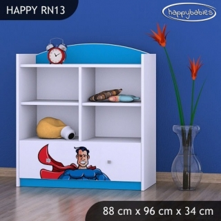 Regál Happy RN13 - superman