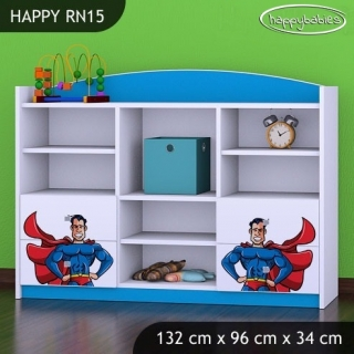 Regál Happy RN15 - superman