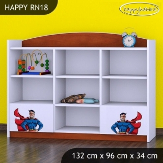 Regál Happy RN18 -   superman