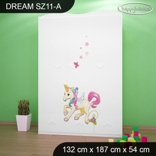 Skříň Dream SZ11 - pony